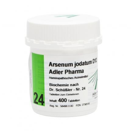 Arsenum jodatum D12 Adler Pharma Nr.24, Tablette