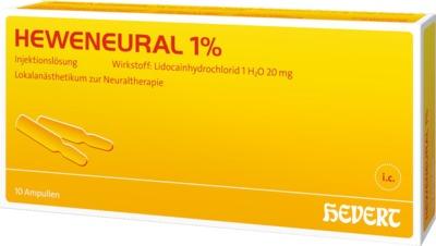 HEWENEURAL 1% Ampullen