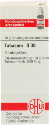 TABACUM D 30 Globuli