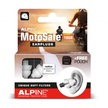 ALPINE MOTOSAFE Tour Gehörschutz f.Motorradfahrer