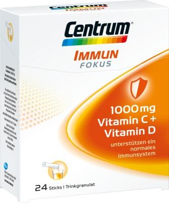 CENTRUM Immun Fokus 1000 mg Vitamin C+D Trinkgranulat