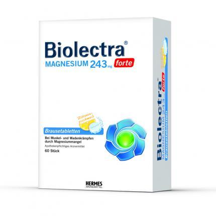 BIOLECTRA Magnesium 243 forte Zitrone Brausetabletten