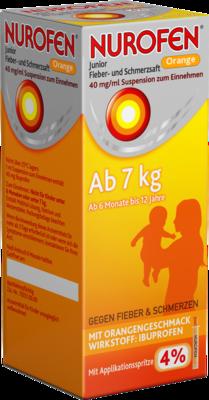 Nurofen Junior Fieber- und Schmerzsaft Orange 40mg/ml