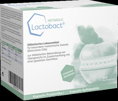 LACTOBACT Metabolic Kurpackung Kapseln