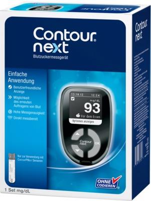 CONTOUR Next Blutzuckermessgerät Set mg/dl
