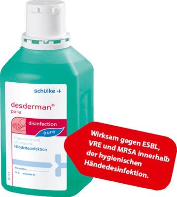 Schulke Desderman Pure Gel Handedesinfektion Desinfektionsgel