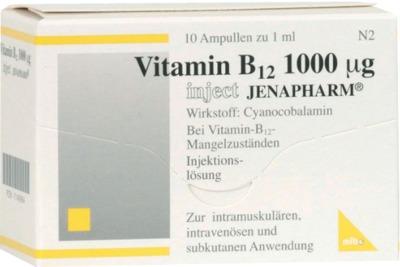 VITAMIN B12 1000 µg Inject Jenapharm Ampullen