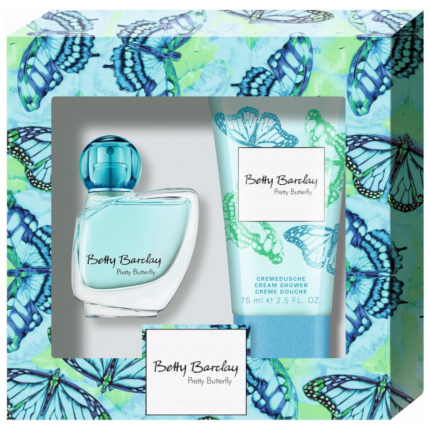 BETTY BARCLAY PRETTY BUTTERFLY SET EDT 20ml + Duschgel 75ml