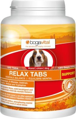 BOGAVITAL RELAX TABS SUPPORT Hund