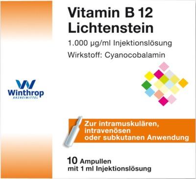 Vitamin B12 1000 µg Lichtenstein Ampullen
