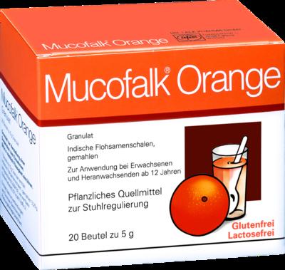 Mucofalk Orange Beutel
