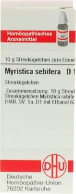 MYRISTICA SEBIFERA D 12 Globuli
