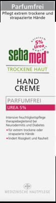 SEBAMED Trockene Haut parfümfrei Handcreme Urea 5%