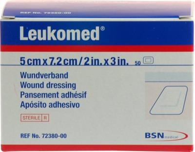 LEUKOMED sterile Pflaster 5x7,2 cm