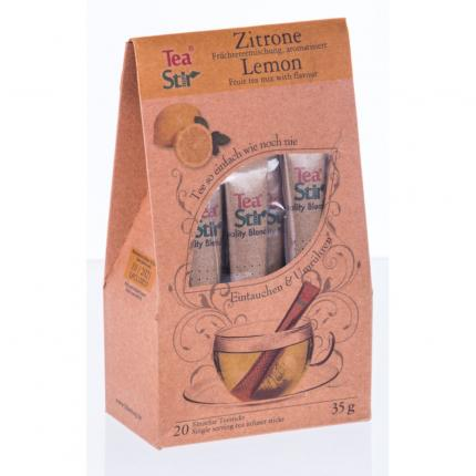 TEA STIR Zitrone Sticks