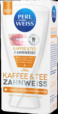 PERLWEISS Kaffee & Tee Zahnweiß