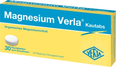 MAGNESIUM VERLA Kautabs