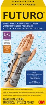 FUTURO wasserfeste Handgelenk-Schiene links L-XL