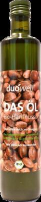 HANFNUSSÖL Bio duowell DAS Öl