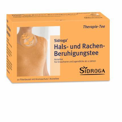 Sidroga Hals- und Rachen-Beruhigungstee Filterbeutel