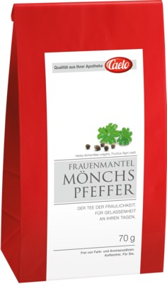 FRAUENMANTEL Mönchspfeffer Tee Caelo HV-Packung