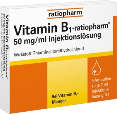 Vitamin B1 ratiopharm 50mg/ml Inj.Lsg. Ampullen