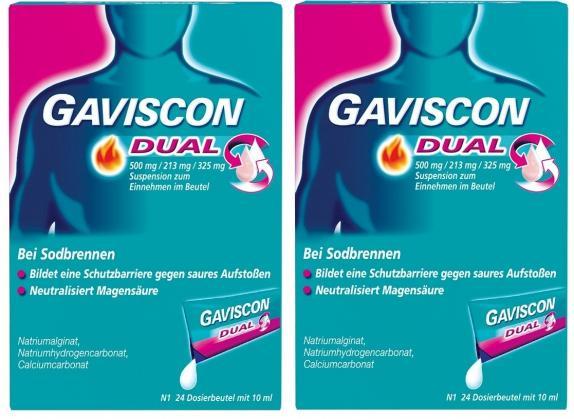 GAVISCON DUAL Beutel Doppelpack