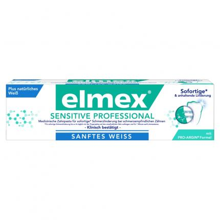 elmex SENSITIVE PROFESSIONAL plus SANFTES WEISS
