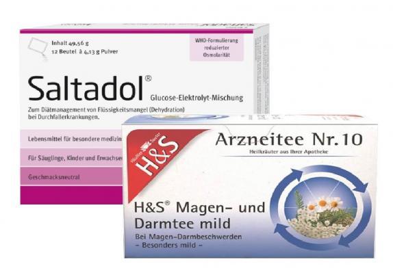 Saltadol + H&S Magen- und Darmtee Set