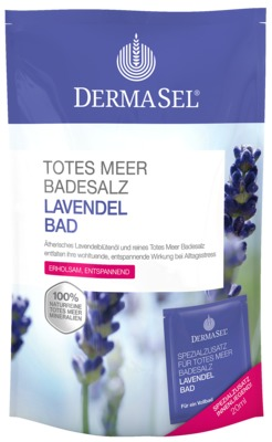 DERMASEL Totes Meer Badesalz+Lavendel