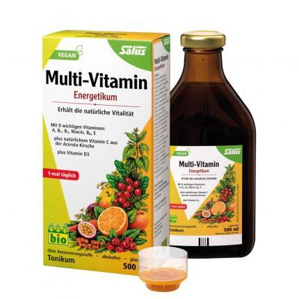 Multi-Vitamin-Energetikum bio 250ml