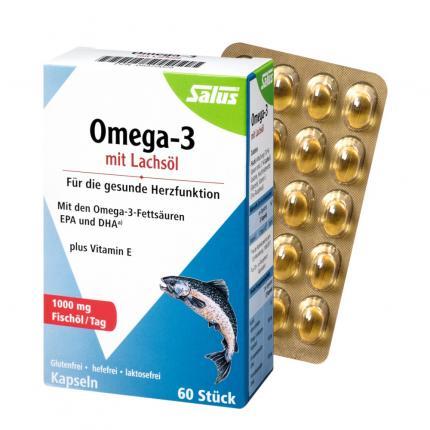 Omega-3 Lachsöl Kapseln Salus