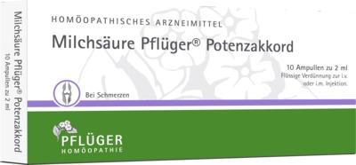 MILCHSÄURE Pflüger Potenzakkord Inj.-Lsg.Amp.