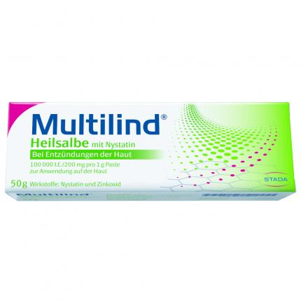 Multilind Heilsalbe mit Nystatin