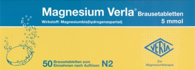Magnesium Verla Brausetabletten