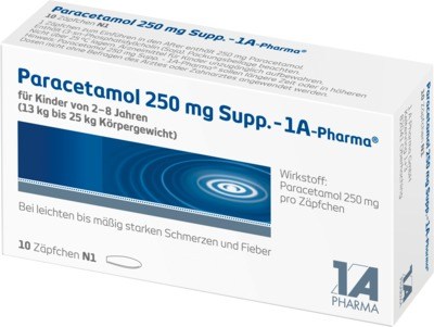 Paracetamol 250mg-1A Pharma