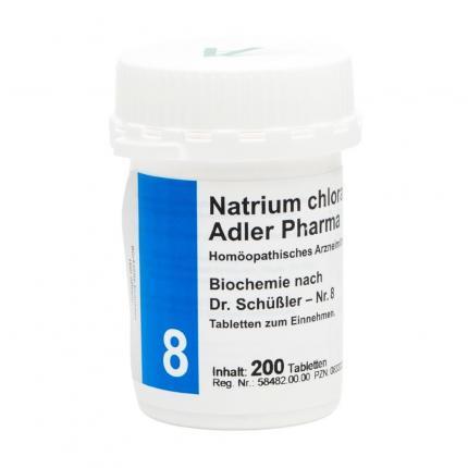 Natrium chloratum D6 Adler Pharma Biochemie nach Dr. Schüßler Nr.8, Tablette