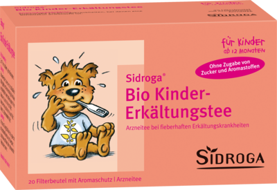 SIDROGA Bio Kinder-Erkältungstee