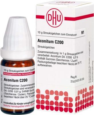 ACONITUM C 200 Globuli