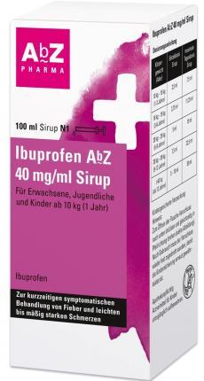 IBUPROFEN AbZ 40 mg/ml Fiebersaft