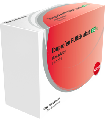 Ibuprofen PUREN akut 400mg