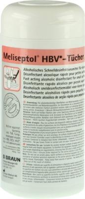 MELISEPTOL HBV Tücher Spenderbox