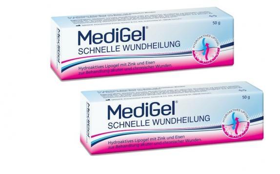 MediGel Schnelle Wundheilung Doppelpack