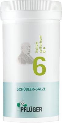 Biochemie Pflüger 6 Kalium sulfuricum D 6 Tabletten