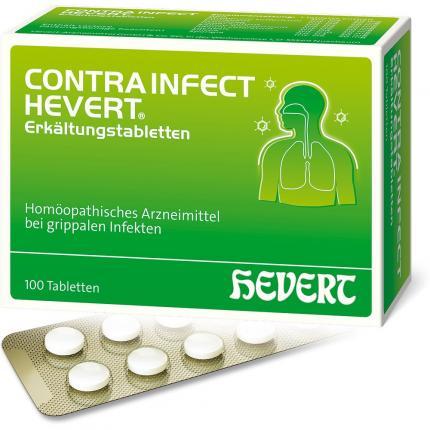 Contrainfect Hevert Erkältungstabletten