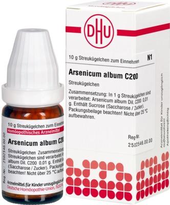 ARSENICUM ALBUM C 200 Globuli
