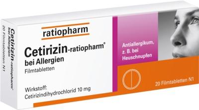Cetirizin-ratiopharm bei Allergien