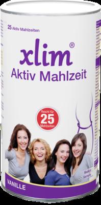 Xlim Aktiv Mahlzeit 500 g Vanille Pulver - wieder in Form