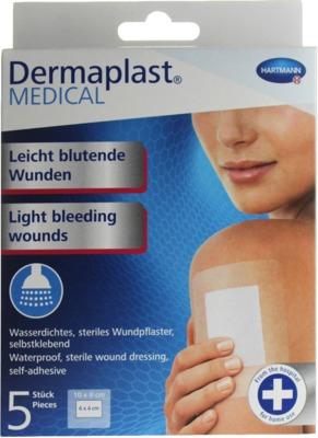 Dermaplast MEDICAL Wundpflaster wasserdicht 9x10cm
