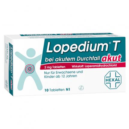 Lopedium T akut bei akutem Durchfall